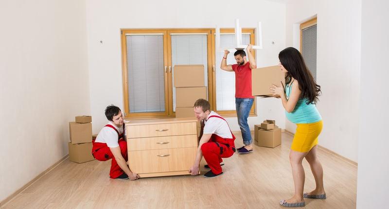 déplacement de meubles
