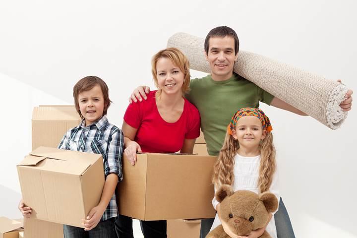 projet déménagement famille